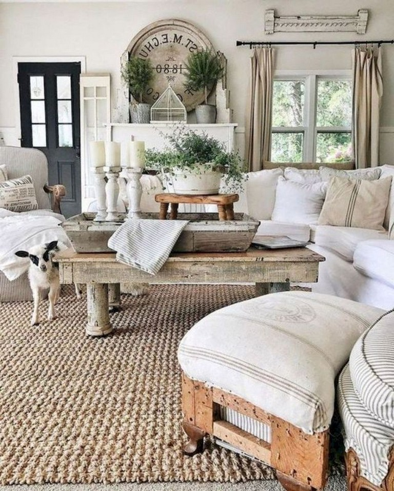 80 Amazing French Country Living Room Decor Ideas Page 11 Of 85