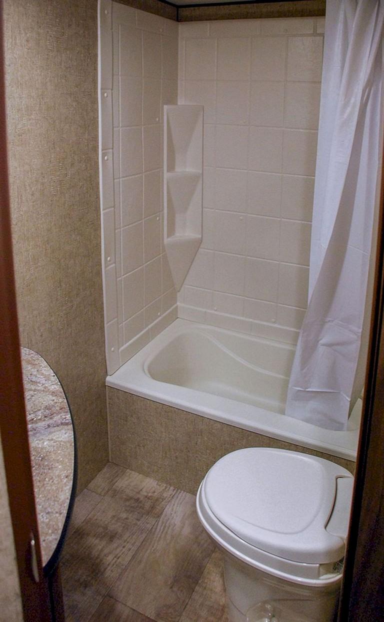 Cool Simple Diy Rv Shower Remodel Ideas
