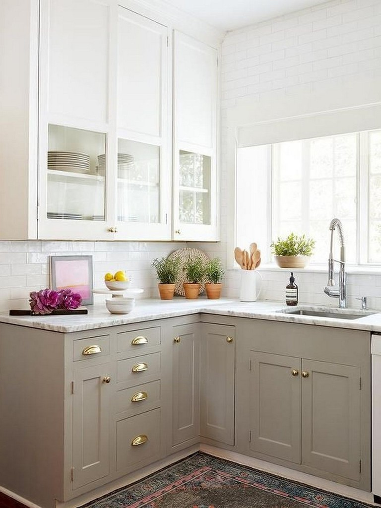 42 Inspiring Tips On Decorating Small Kitchen Page 11 Of 44