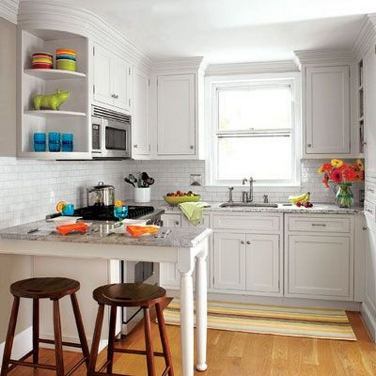 43 Extremely Creative Small Kitchen Design Ideas: 50+ Stunning Small Kitchen Transformations