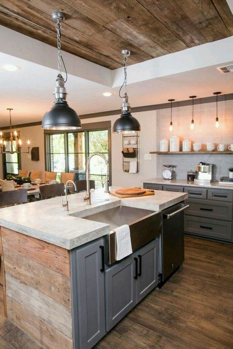 35 Stunning Modern Farmhouse Kitchen Design Ideas To Renew Your Home