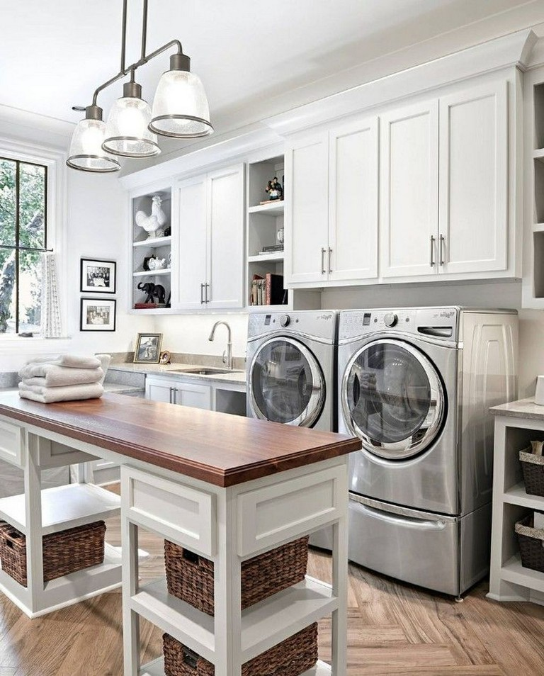 43 Extremely Creative Small Kitchen Design Ideas: 38+ Awesome Rustic Functional Laundry Room Ideas Best For