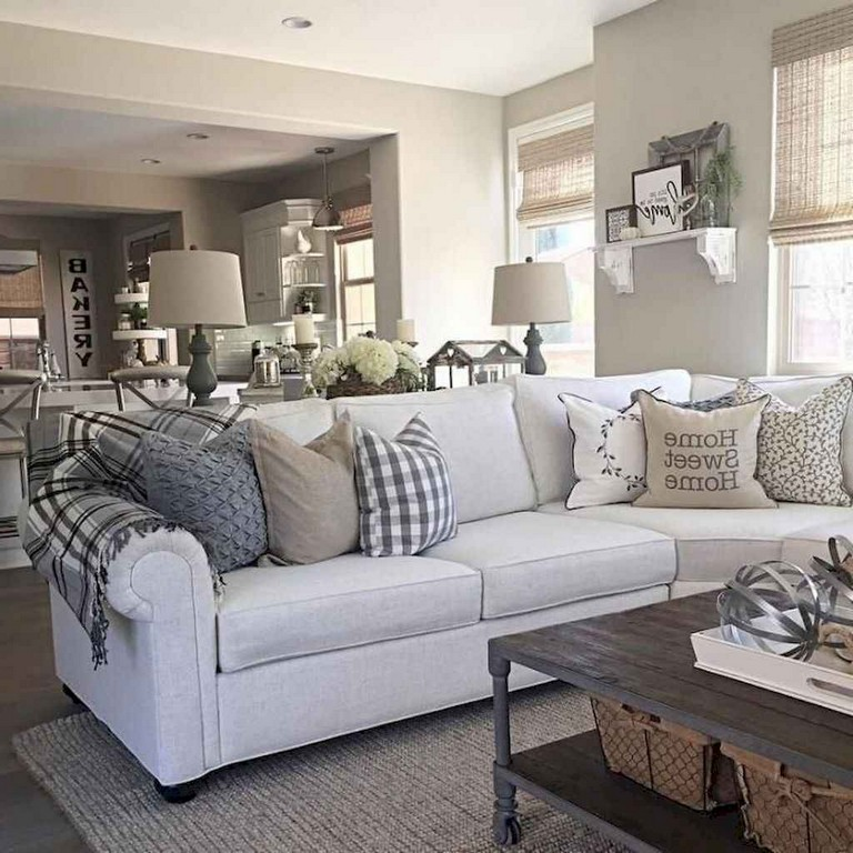 111+ Lovely French Country Living Room Decor Ideas