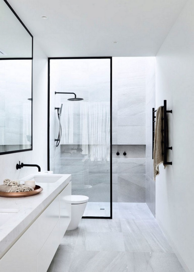 167+ Top Modern Bathroom Shower Ideas For Small Bathroom